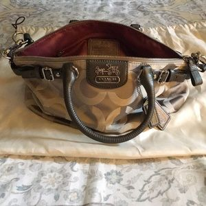 Authentic Beautiful Coach Purse with Dust free bag